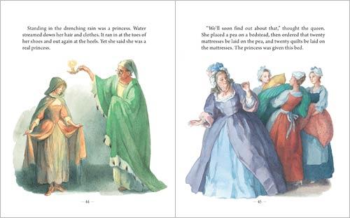 An Illustrated Treasury of Hans Christian Andersen's Fairy Tales via waldorfbooks.com