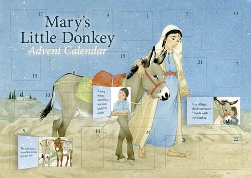 Mary's Little Donkey Advent Calendar via waldorfbooks.com