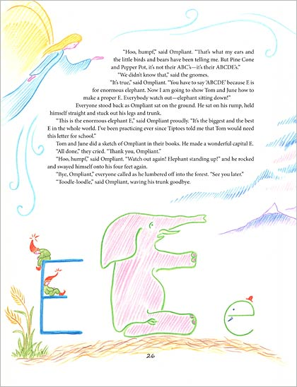 The Alphabet via waldorfbooks.com
